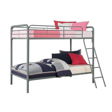 Dorel Metal Bunk Bed by Dorel Silver Metal Bunk Bed