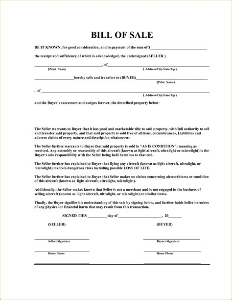 car bill of sale word 7 bill of sale template word authorizationletters org