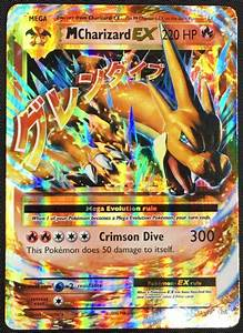 MEGA M CHARIZARD EX 13/108 Pokemon TCG : XY Evolutions ...