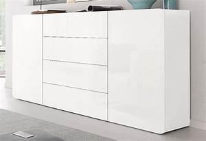 Sideboard Weiß Hochglanz 180 : tecnos sideboard botero breite 180 cm kaufen otto ~ Bigdaddyawards.com Haus und Dekorationen