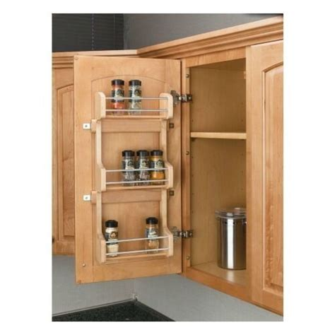 Kitchen Cabinet Storage Organizers Uk by 3 Shelf Kitchen Pantry Cabinet Door Mount Organizer