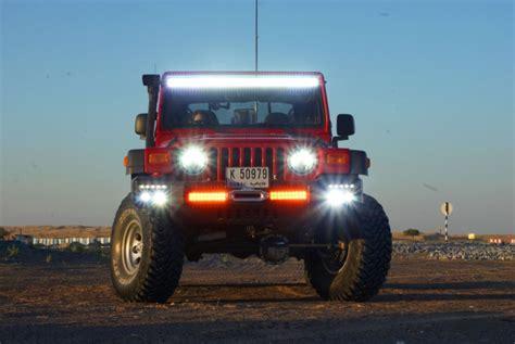 jeep light bar at night 5 irritating car accessories