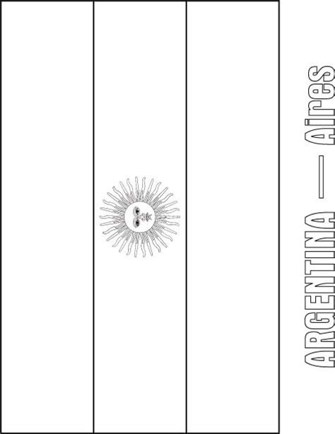 argentina flag coloring page   argentina flag coloring page  kids