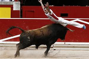 Nobody Died At The Running Of The Bulls In Pamplona  But