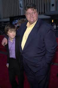Daniel Radcliffe and Robbie Coltrane