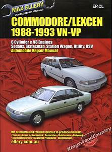 Holden Commodore    Lexcen Vn Vp Workshop Repair Manual