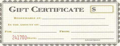 gift certificate template free printable 28 cool printable gift certificates baby