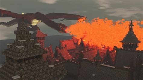 hobbit esgaroth dale erebor ravenhill minecraft building