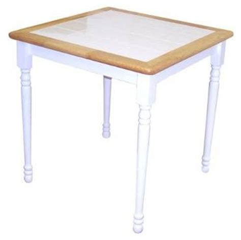 ceramic tile kitchen tables cottage wood dining table w ceramic tile top two tone 5202