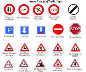 What Does A Yellow Traffic Light Mean by Know Your Air Traffic Signs By Aizxana On Deviantart