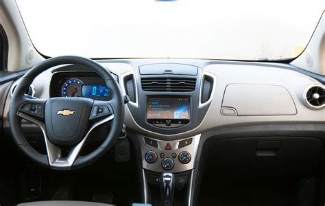Interni Chevrolet Trax Chevrolet Trax Foto Panoramauto