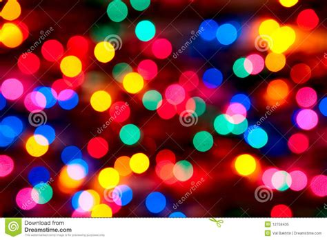 how to tell which christmas light is out out of focus lights stock image image 12759435