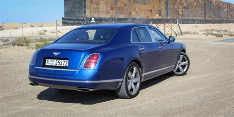 bentley mulsanne speed review abu dhabi  dubai