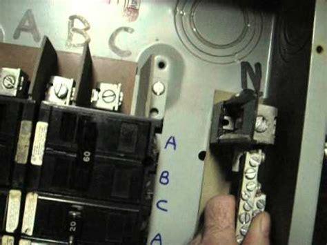 Three Phase Breaker Box How Holds Pole
