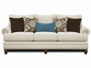 sofas with nailhead trim militariartcom With ryan traditional sectional sofa with nailhead trim by huntington house