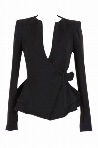 Buckled Peplum Waist Suit