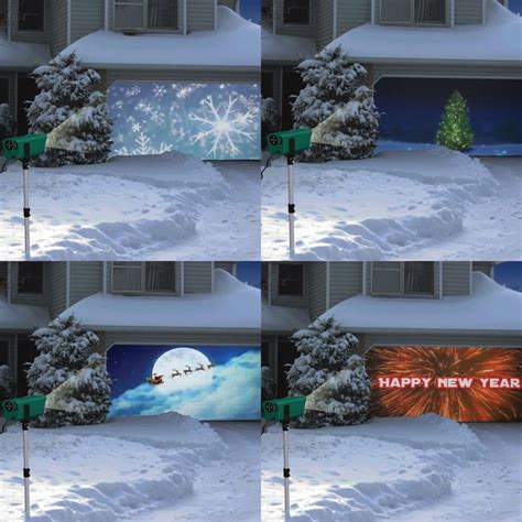animated holiday scenes projector fancycom