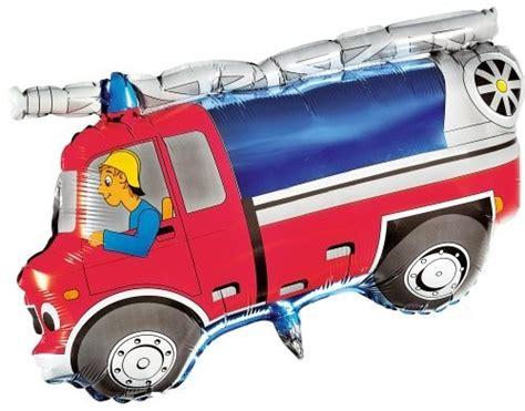 folie für auto 1 folienfigur feuerwehr auto 216 80 cm luftballons und