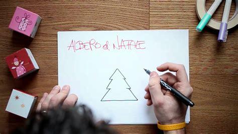 disegnare  albero  natale youtube