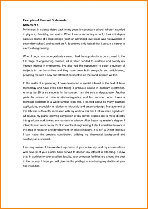 4 personal statements exles attorney letterheads