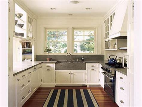 Kitchen Design Ideas by Decorating Your Small Space Small Galley Kitchen Design