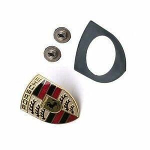 Porsche Boxster S Emblem : porsche hood emblem kit seal nuts crest cayenne boxster ~ Kayakingforconservation.com Haus und Dekorationen