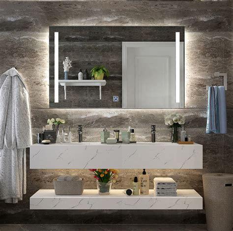 Bathroom Mirror Styles by Diyhd Wall Mount Led Lighted Bathroom Mirror Vanity