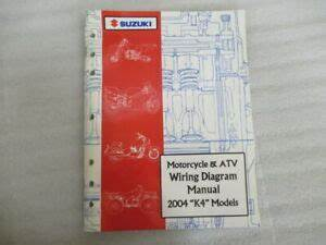 2004 Suzuki Motorcycle Atv Wiring Diagram Models K4
