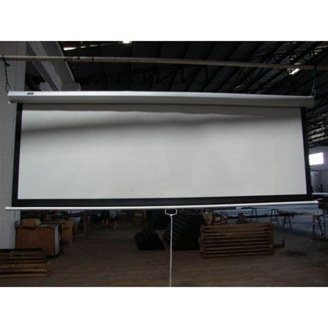 manual pull  projector screen  auto