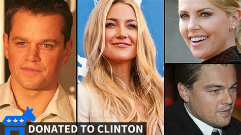 Celebrities bury 2016 candidates in cash, with some ...