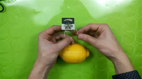 How Produce Electricity With Lemon Science