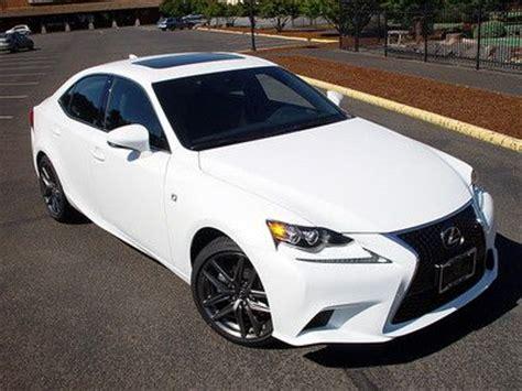 lexus sport car 4 door find new 2014 lexus is250 awd f sport 4 door ultra white