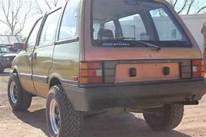1986 Nissan Stanza  Datsun Prairie  4x4 One Of A Kind