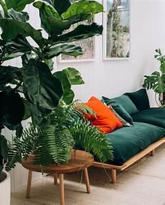 image deco salon vert 20171023102107 tiawukcom With couleur tendance pour salon 18 inspirations deco en vert fonce joli place