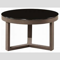 Amber Modern Outdoor Round Coffee Table Contemporary