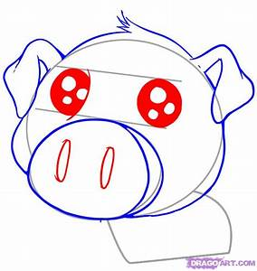 How to Draw a Cute Pig, Step by Step, anime animals, Anime ...