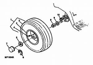Rear Wheels And Tires Diagram  U0026 Parts List For Model