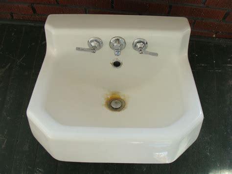 vintage cast iron bathroom sink vintage 1950s kohler white cast iron porcelain sink