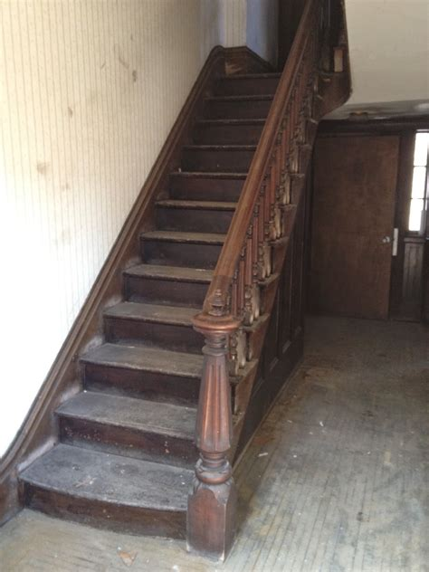 victorian newel post - Staircase design