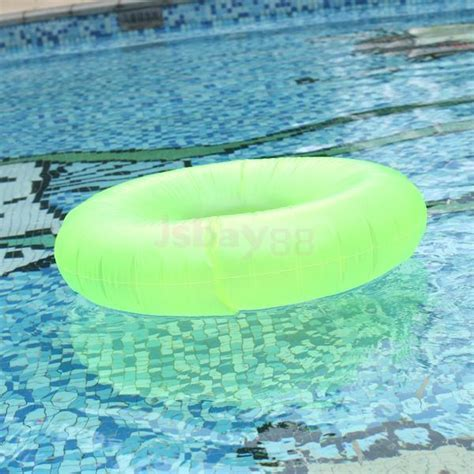 3Colors U Pick Beach Water Swimming Inflatable Swim Ring