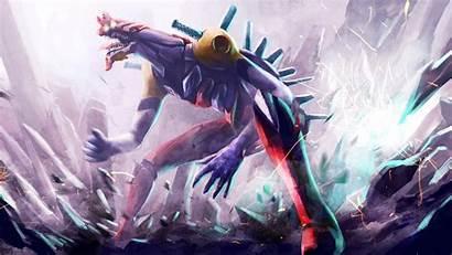Evangelion Eva Beast Mode Wallpapers Neon Creature