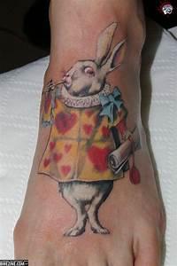 Alice Falling Down The Rabbit Hole Tattoo | www.pixshark ...