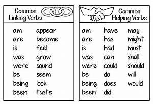 Linking Verbs Chart | www.pixshark.com - Images Galleries ...