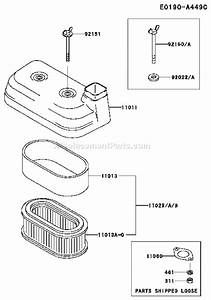 Kawasaki Fd501v Parts List And Diagram