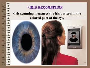 An Atm With An Iris Recognition