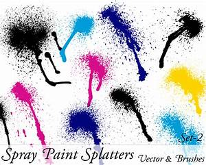 How To Splatter Paint With Spray Paint. create a drippy ...