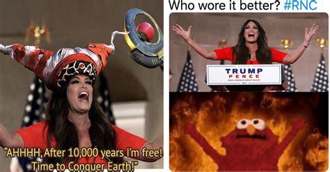 guilfoyle kimberly memes meme rnc speech screaming