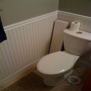 Wainscoting in small bathroom 28 images wainscotting for Installing wainscoting in bathroom