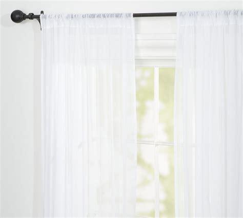 sheer cotton voile curtains voile pole pocket curtain pottery barn au