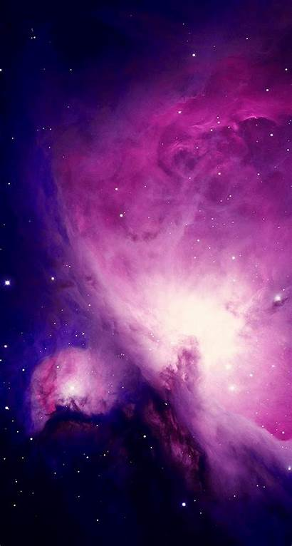 Iphone Purple Space Nebula Plus Wallpapers Spectacular